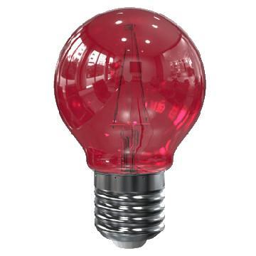 Image of E27 filament lamp - Rood - Tronix