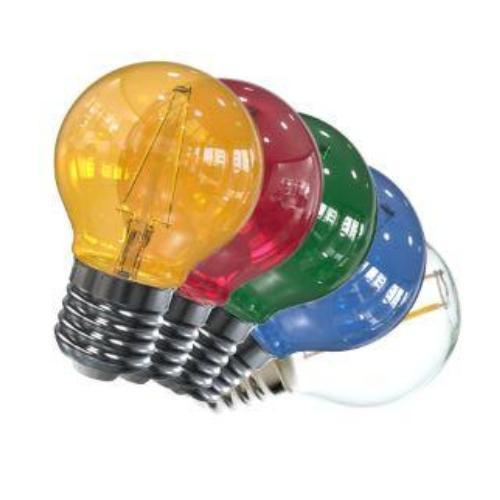 Image of E27 filament lamp - E27 gekleurd - Tronix