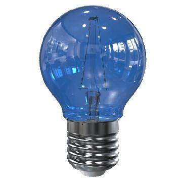 Image of E27 filament lamp - Blauw - Tronix