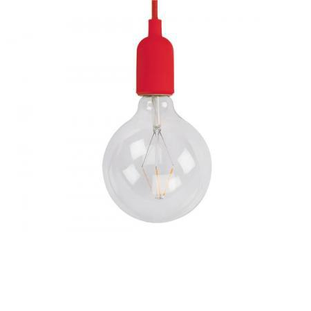 Fitting - Hanglamp E27 - Retro Rood