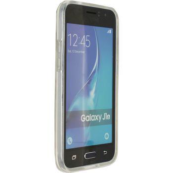 Smartphone Naked Protection Case Samsung Galaxy J1 2016 Transparant -