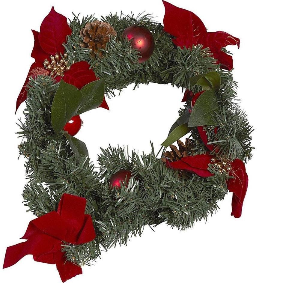 Image of Kerstkrans buiten - Kerstkrans groen - Christmas Gifts
