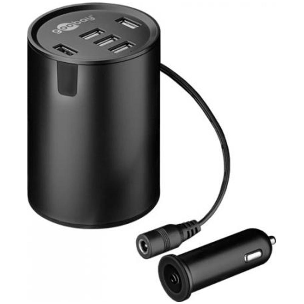 Sigarettenaansteker Autolader 5x USB Quality4All