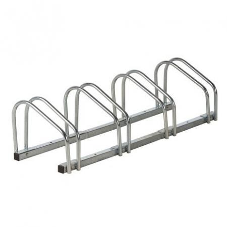 Image of Bicycle Gear Fietsenrek voor 4 fietsen (wand- en vloerbevestiging)
