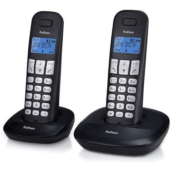 Huistelefoon Draadloos 2 handsets PROFOON