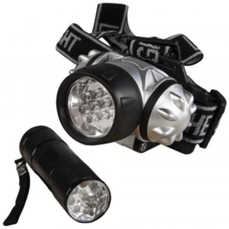 LED hoofdlamp en Zaklamp Techtube Pro
