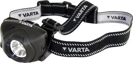 1 WATT LED HOOFDLAMP 3AAA - Varta