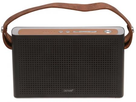 Image of BTS-200BLACKMK2 - Bluetooth speaker with rechargeable battery (black)