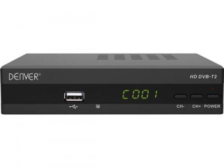 Image of DTB-135 - DVB-T2 settop box for Free-to-air channels - Denver Electron