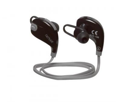 Image of BTE-100GREY - Wireless Bluetooth earphones - Denver Electronics