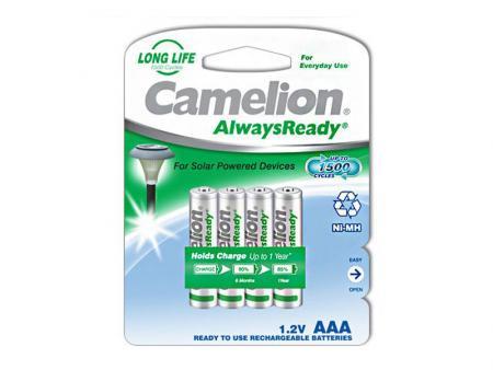 Image of Akku Camelion AlwaysReady Micro AAA 600mA (4 pcs.) - Camelion