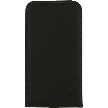 Smartphone Gelly Flip Case Samsung Galaxy J1 2016 Zwart Mobilize