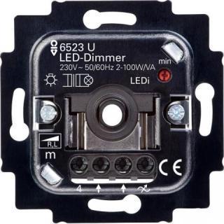 Image of 6523 U-102 - Dimmer flush mounted 2...200VA 6523 U-102