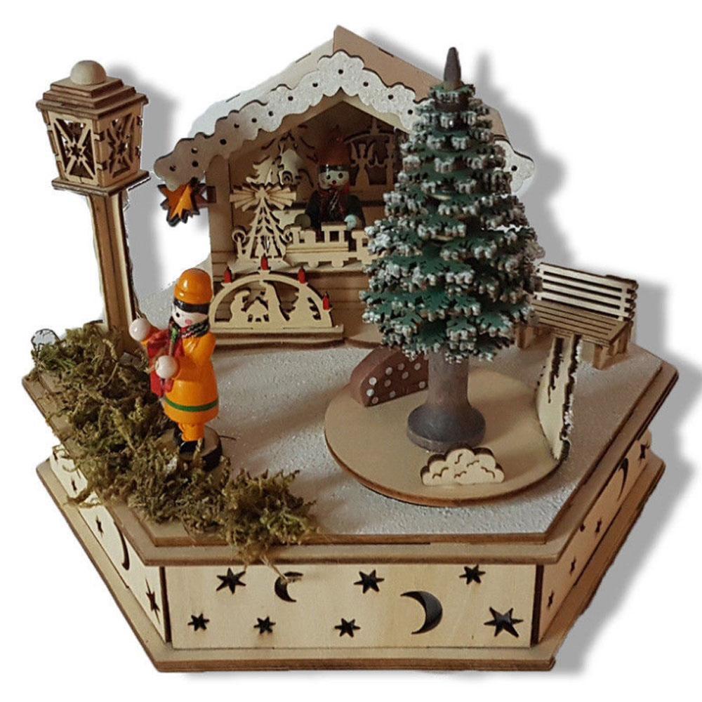 Kersthuisje -