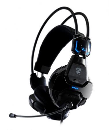 E-Blue Cobra 707 Shocking PC Gaming Headset - Zwart - E-blue