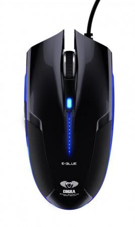 E-Blue Cobra PC Gaming Muis - Zwart - E-blue