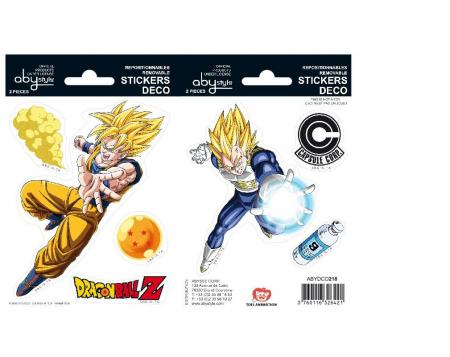 Image of Dragon Ball - Stickers - 16X11Cm/ 2 Sheets - Dbz/ Goku-V - Dragon Ball