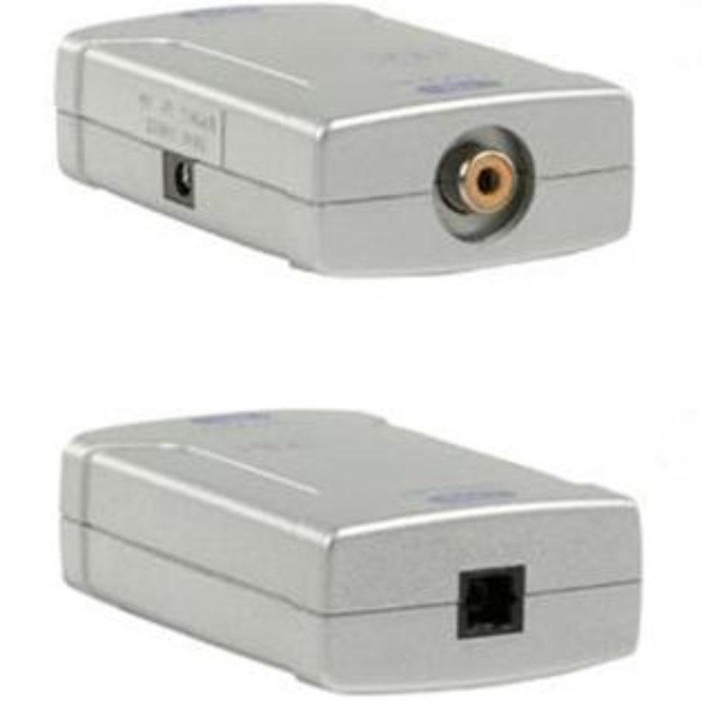 Omvormer - Optisch naar Coaxiaal Output: Digital Coaxiaal