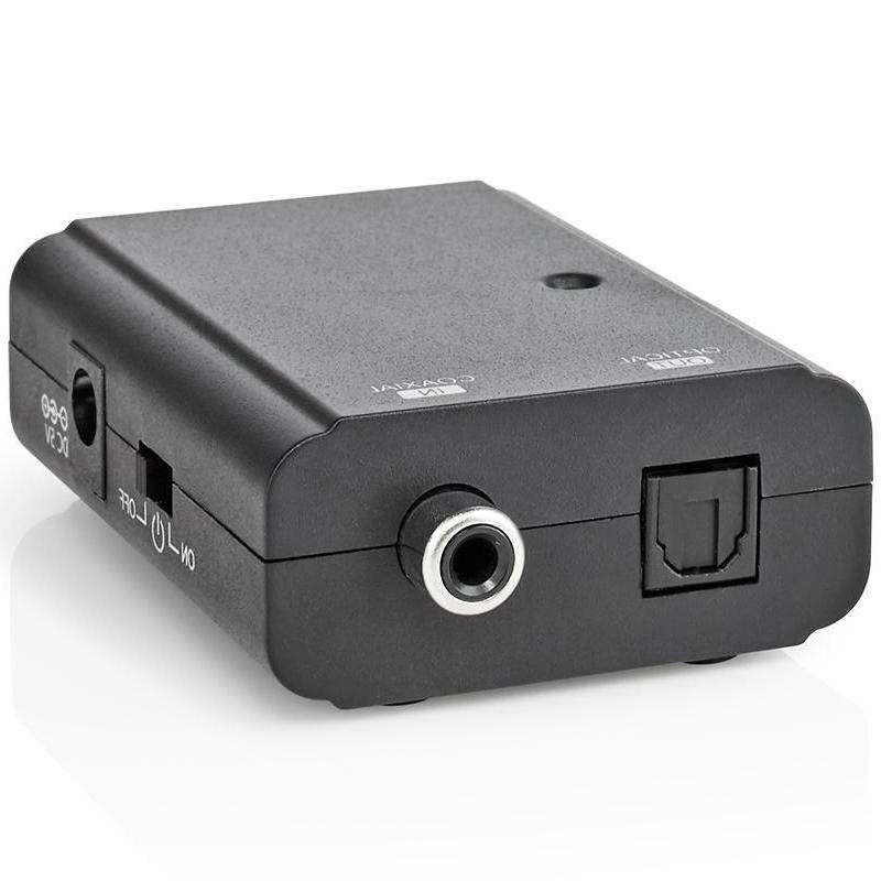 Omvormer - Digital Coaxiaal naar Optisch Output: Optisch (toslink) Female