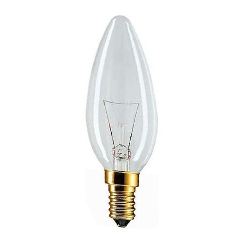 Philips Light Bulb KERZE 60 Watt E14 (Clear) 10 Pcs - Philips