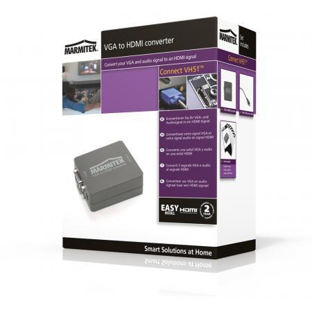 Marmitek VGA to HDMI converter Connect VH51 - Marmitek