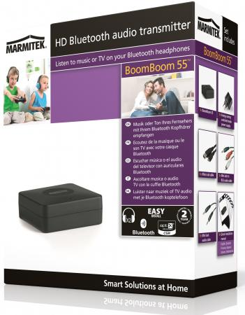 Marmitek HD Bluetooth audio zender BoomBoom 55 - Marmitek