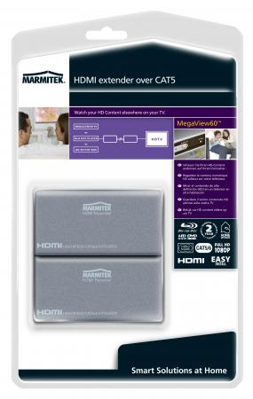 Marmitek HDMI over CAT extender MegaView 60 - Marmitek