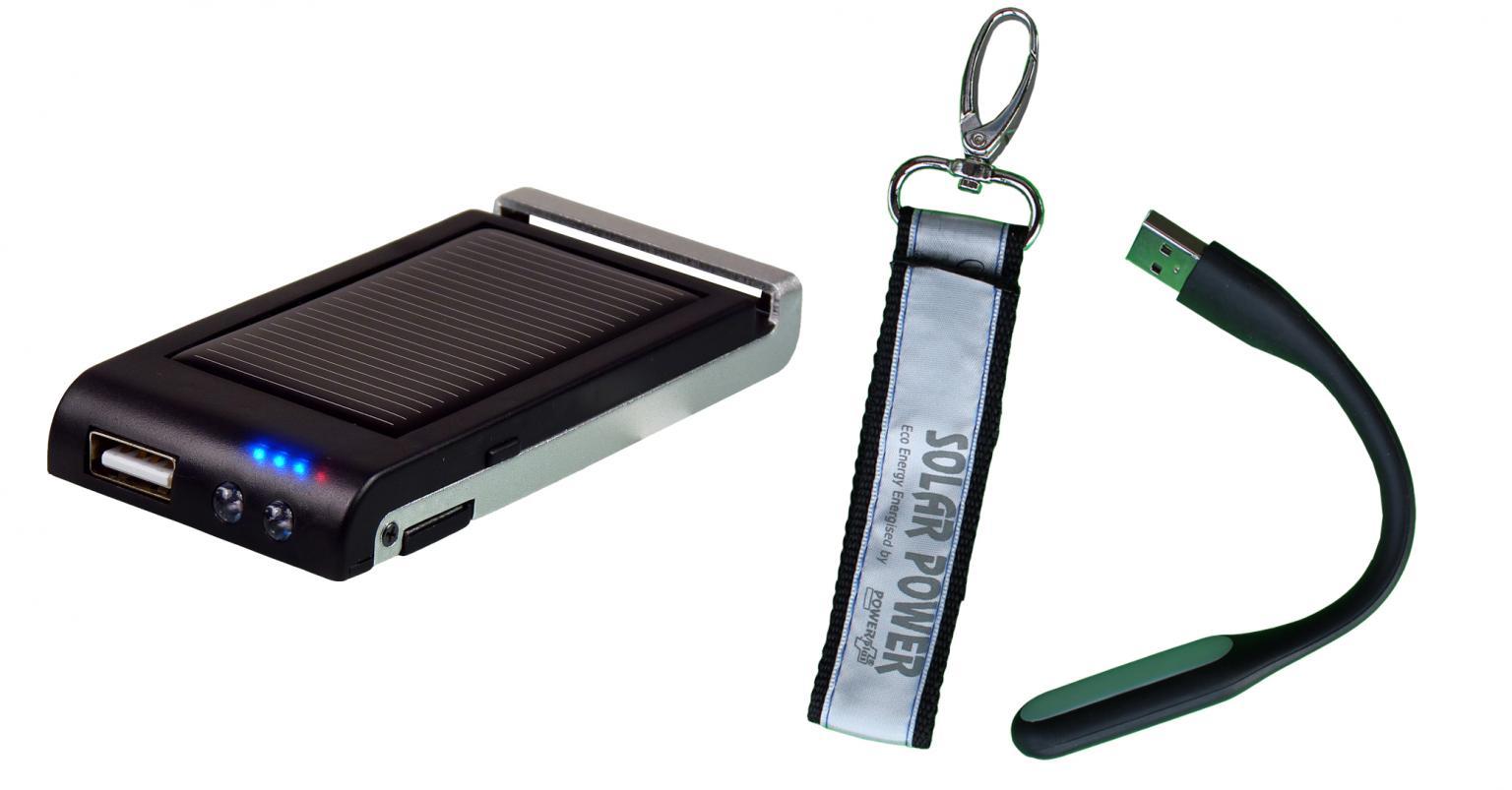 POWERplus Colibri, solar lader-oplader voor mobiele telefoon, powerb