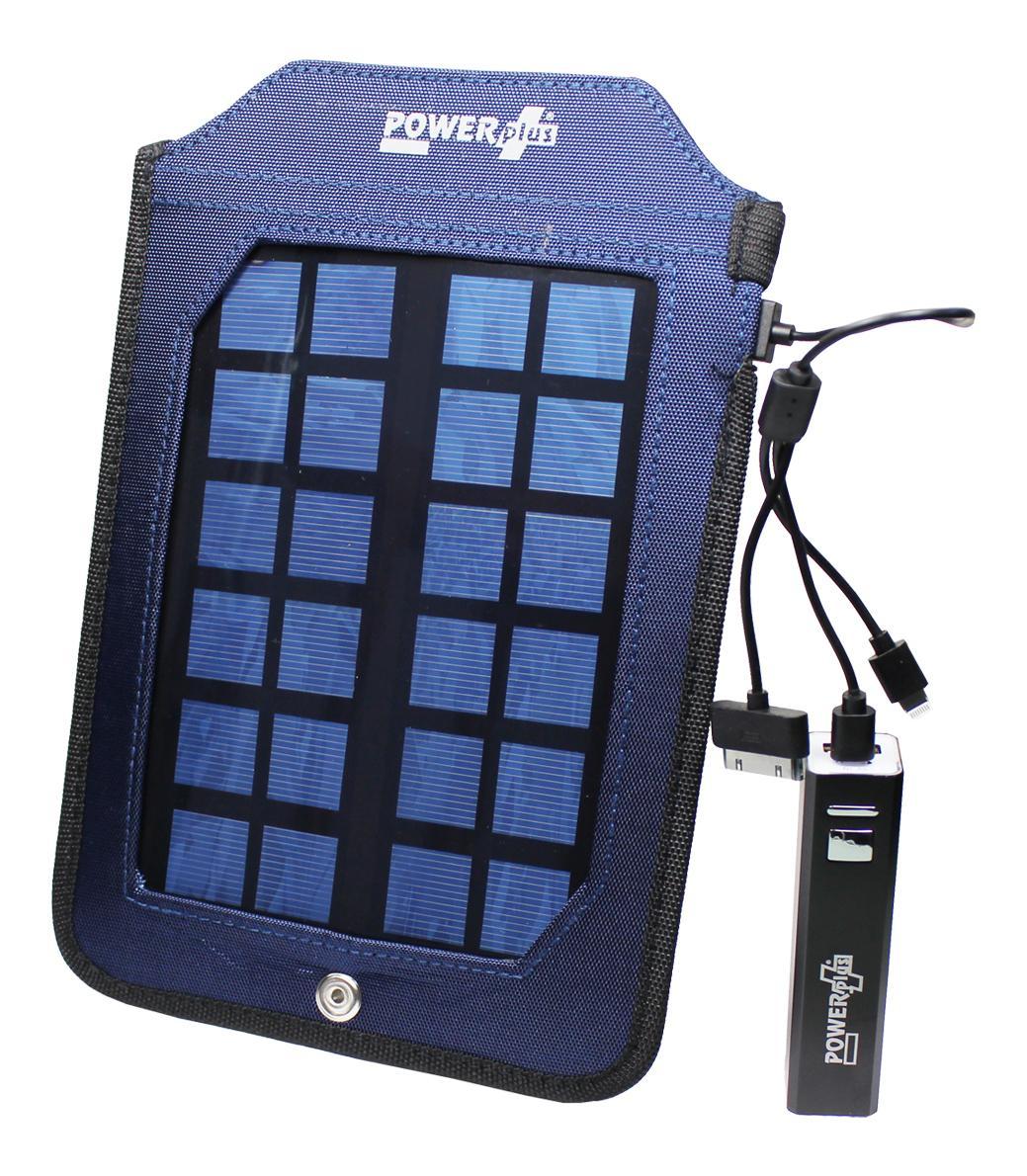 POWERplus Cobra Solar Lader-Oplader voor mobiele telefoons Powerba