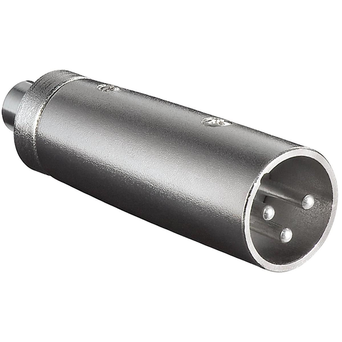 XLR - Tulp Verloop Connector 2: Tulp Female