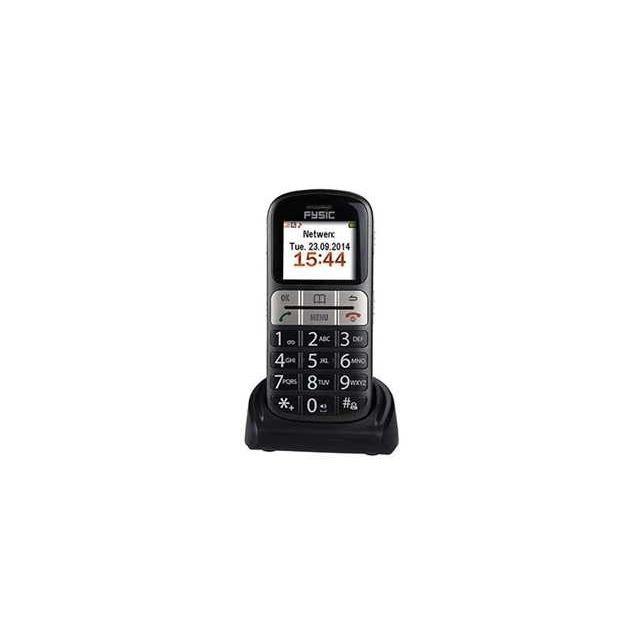 FM-7800 Fysic Big Big Button Comfort GSM Black - Fysic