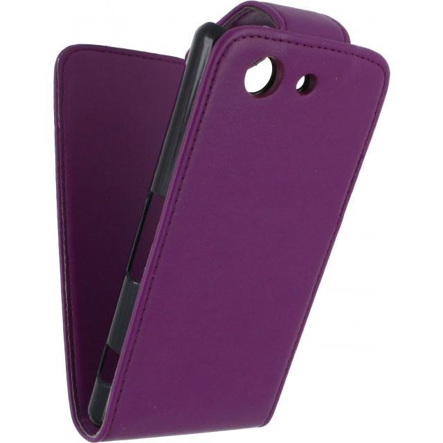 Xccess Flip Case Sony Xperia Z3 Compact Purple Xccess