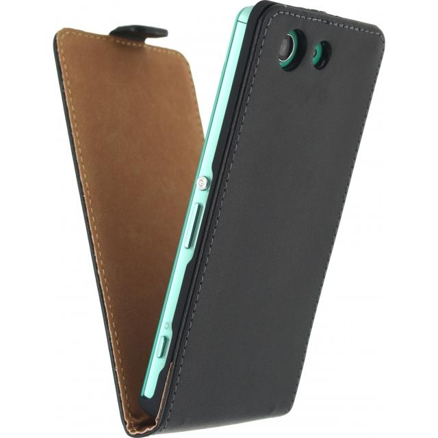 Mobilize Classic Flip Case Sony Xperia Z3 Compact Black Mobilize