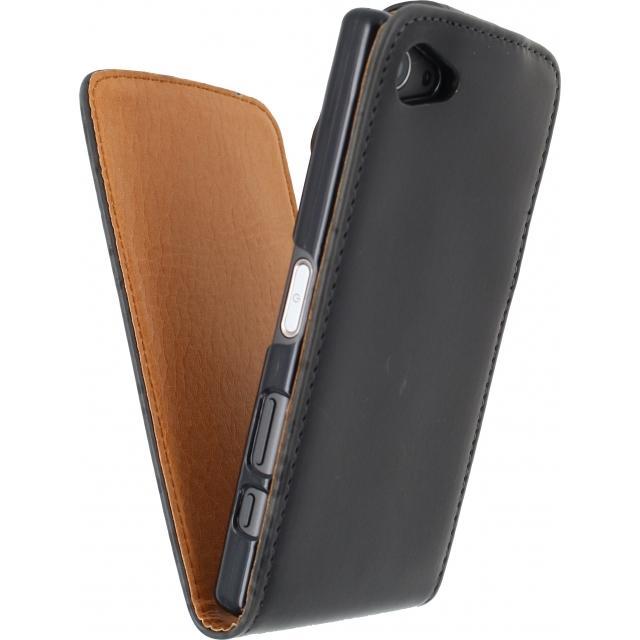 Xccess Flip Case Sony Xperia Z5 Compact Black Xccess
