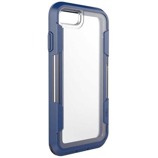 C23030 Peli Voyager Clear Case Apple iPhone 7 Clear/Indigo - PELI
