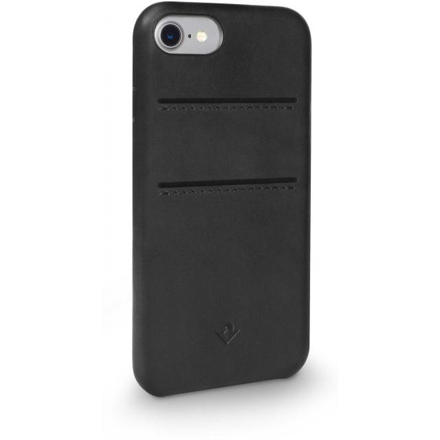 Twelve South Relaxed Leather Case with Pockets Apple iPhone 7 Black -
