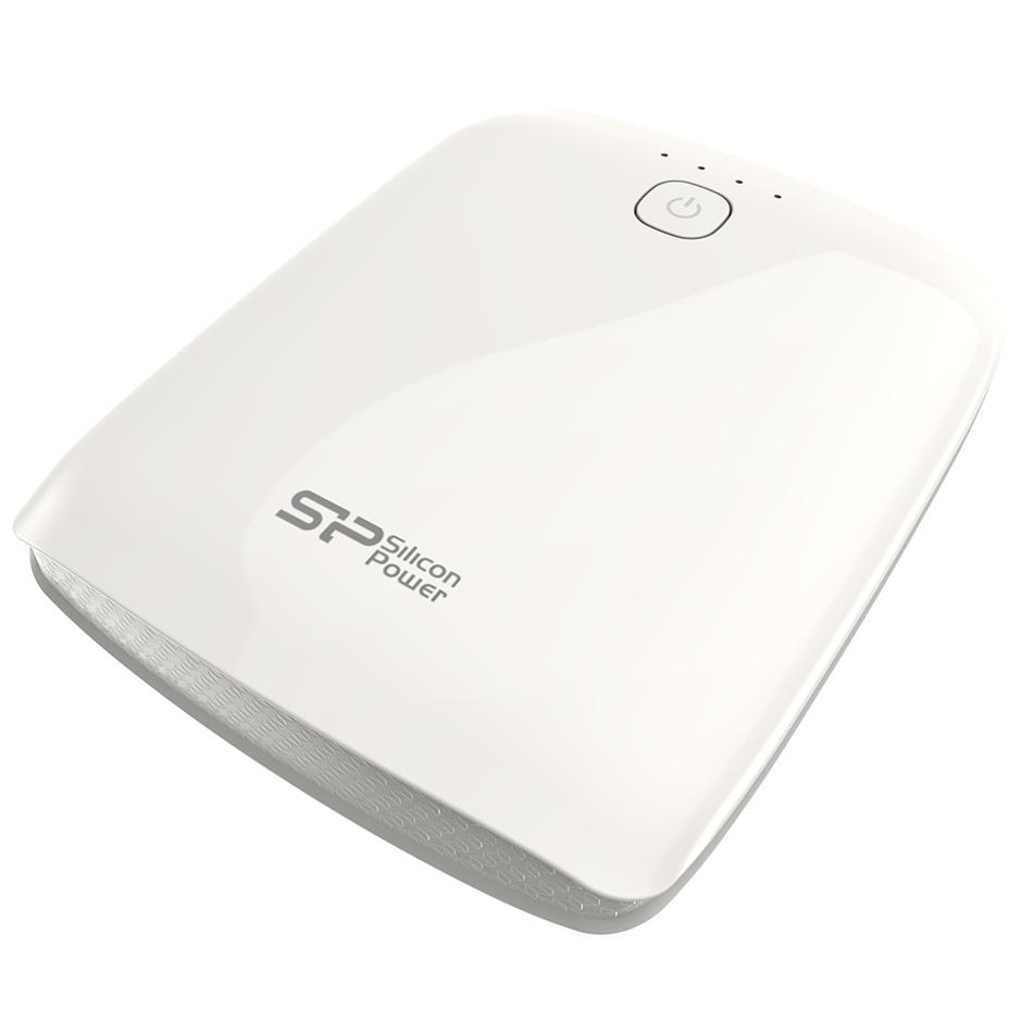 Powerbank - 10.400 mah - Wit