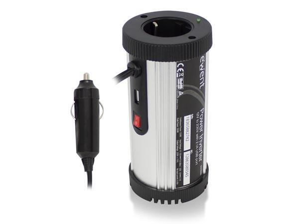 EWENT - OMVORMER 12 VDC NAAR 230 VAC (150 W) - Eminent