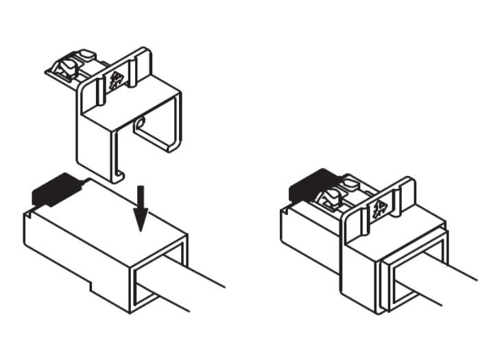 RJ45 connector vergrendeling set