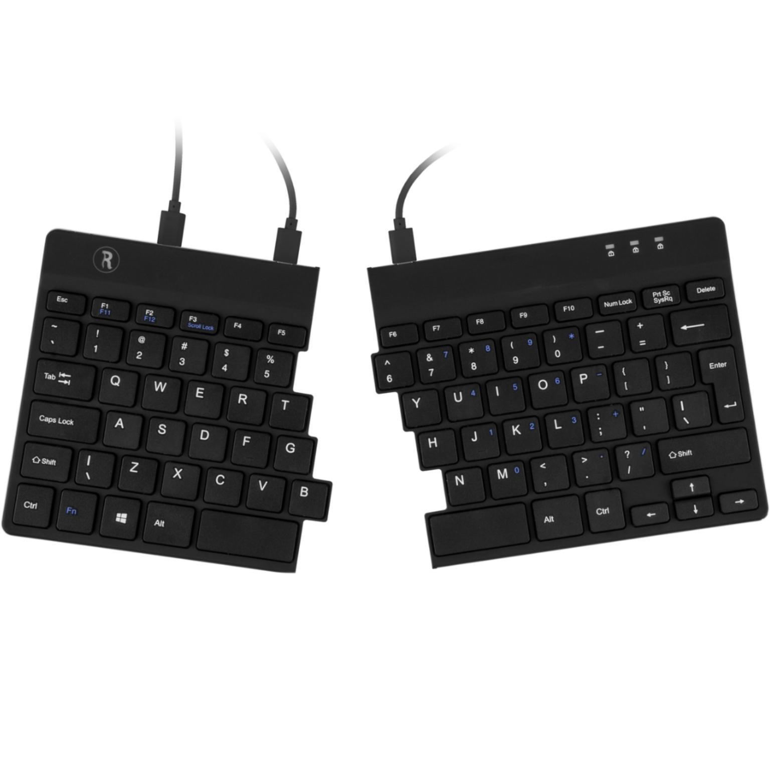 Bedraad toetsenbord R-GO R-GO