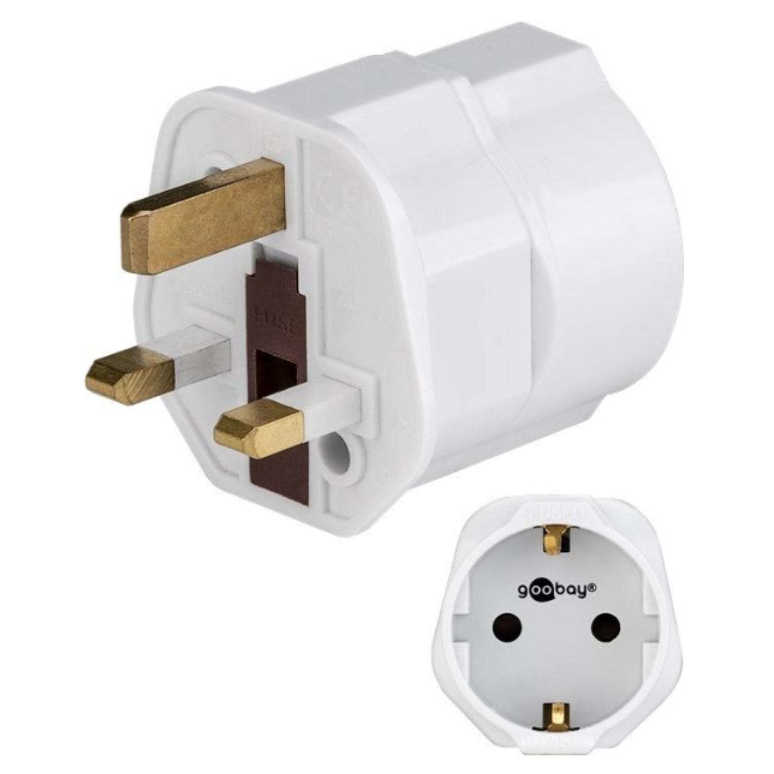 Engelse stekker adapter