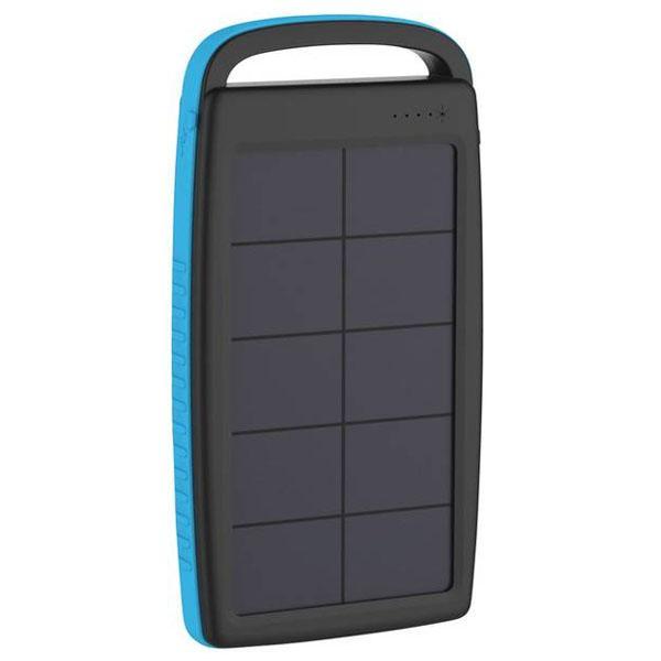Xlayer Powerbank PLUS Solar zwart-blauw 20000mAh 215775 Xlayer