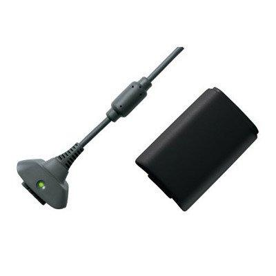 XBOX 360- Play & Charge Set Zwart GXL