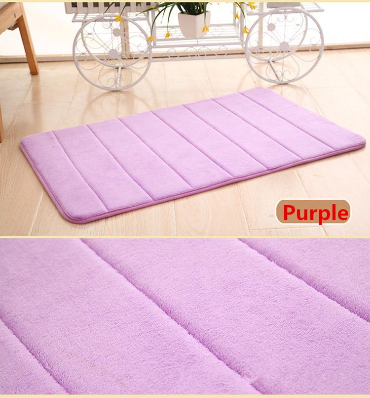 Badmat met antislip Purple Able & Borret