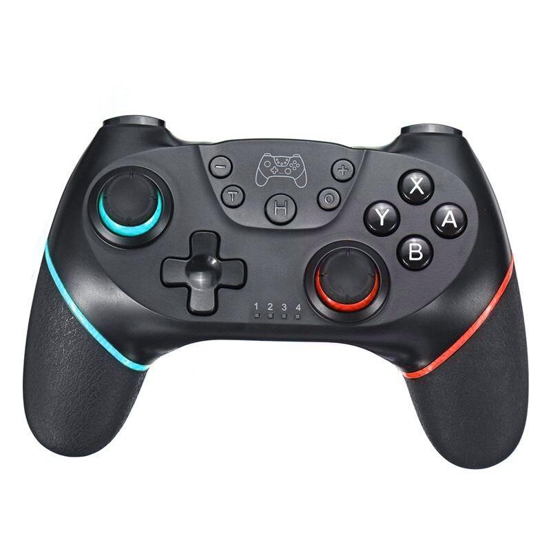 Draadloze controller voor Nintendo Switch Blauw-rood Able & Borret