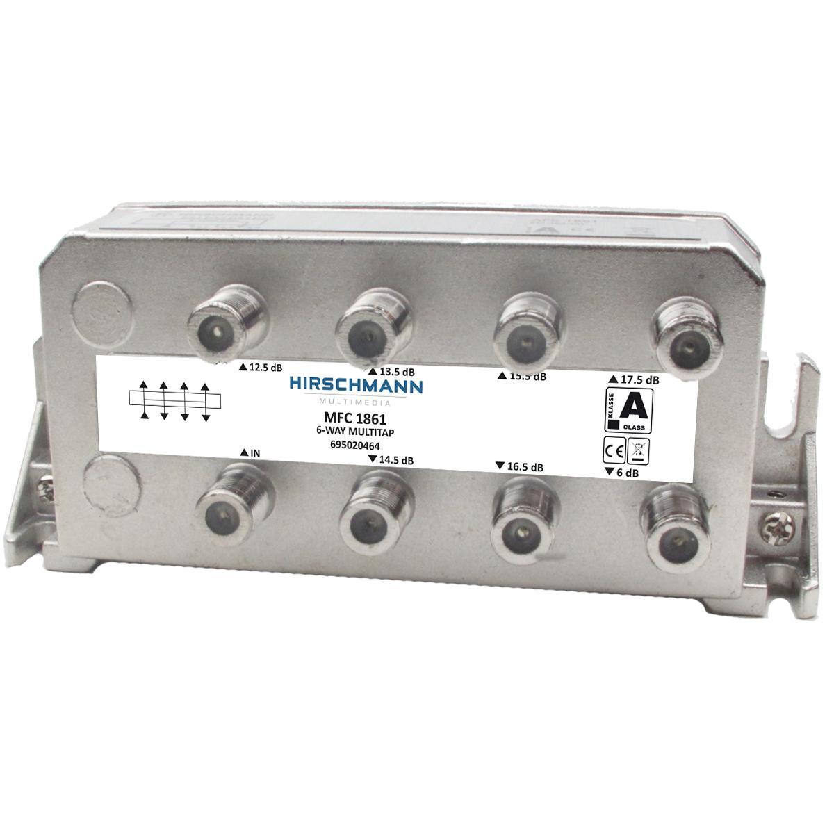 Image of CATV-Splitter 2.0 DB / 5-1218 MHz - 6 Uitgangen