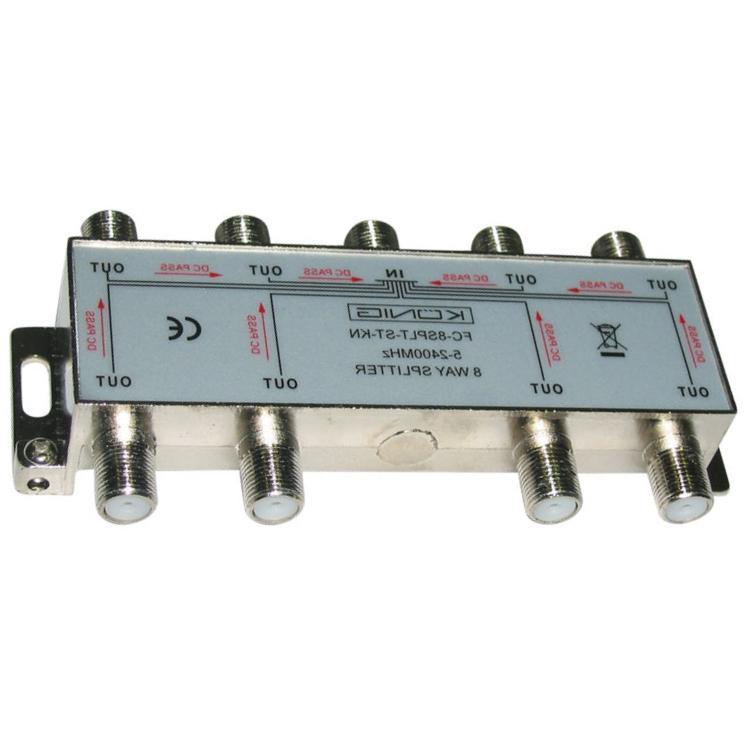 Image of CATV-Splitter 11 DB / 5-1000 MHz - 8 Uitgangen