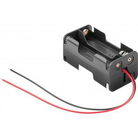 Image of 4x AA batterij houder - Fixapart