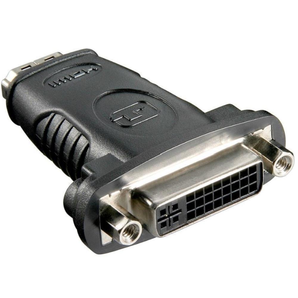 HDMI - DVI-D Verloopstekker Verguld: Nee