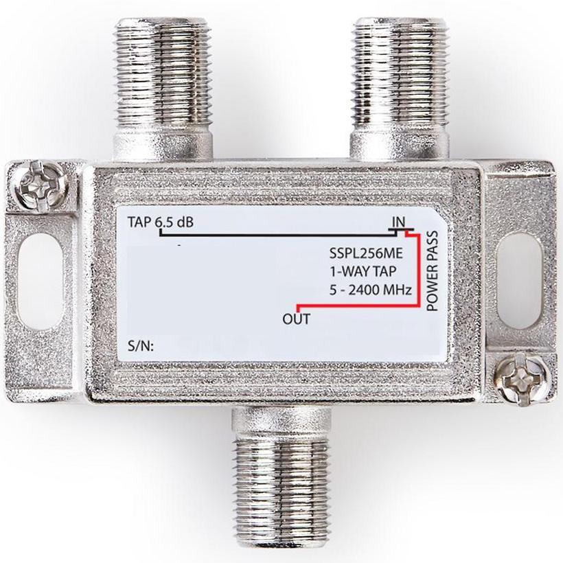 Magnifiek Coaxsplitter voor analoog of digitaal signaal bij Allekabels ZC65